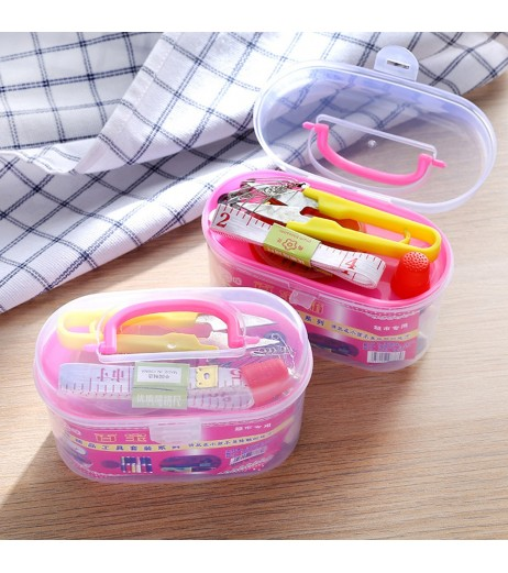 14 Pieces Sewing Tools Set Home Tool Functional Sewing Box Set