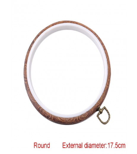 1 Pc Embroidery Hoop Round Shaped Multi-Size Cross-Stitch Embroidery Hoop