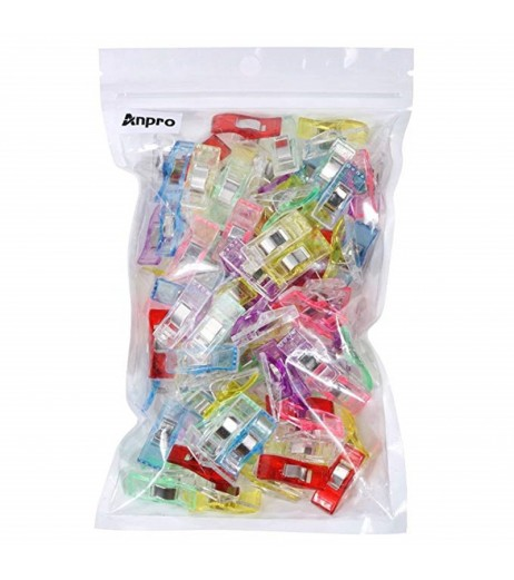 100Pcs Mending Tools Clips For Sewing Quilting Crafting Colorful Clips Sewing Tools