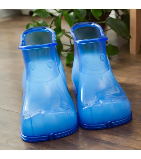 1 Pair Foot Soak Bath Therapy Massage Shoes Ankle Boots Sole Relaxation Feet Care Foot Bath Massage